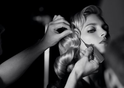 Anja Rubik models in the campaign for Kérastase's L'Incroyable Blowdry